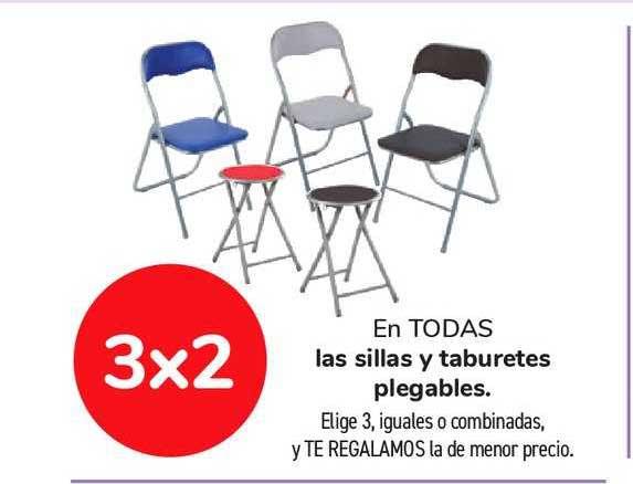 Carrefour Market 3x2 En Todas Las Sillas Y Taburetes Plegables
