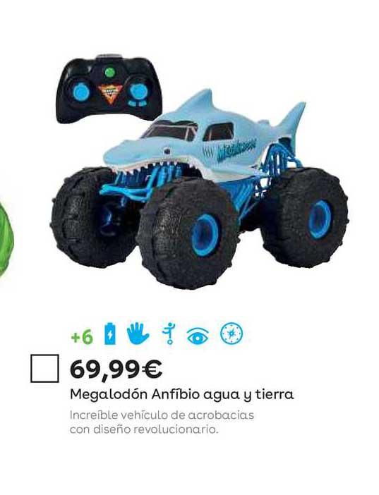 ToysRUs Megalodón Anfibio Agua Y Tierra