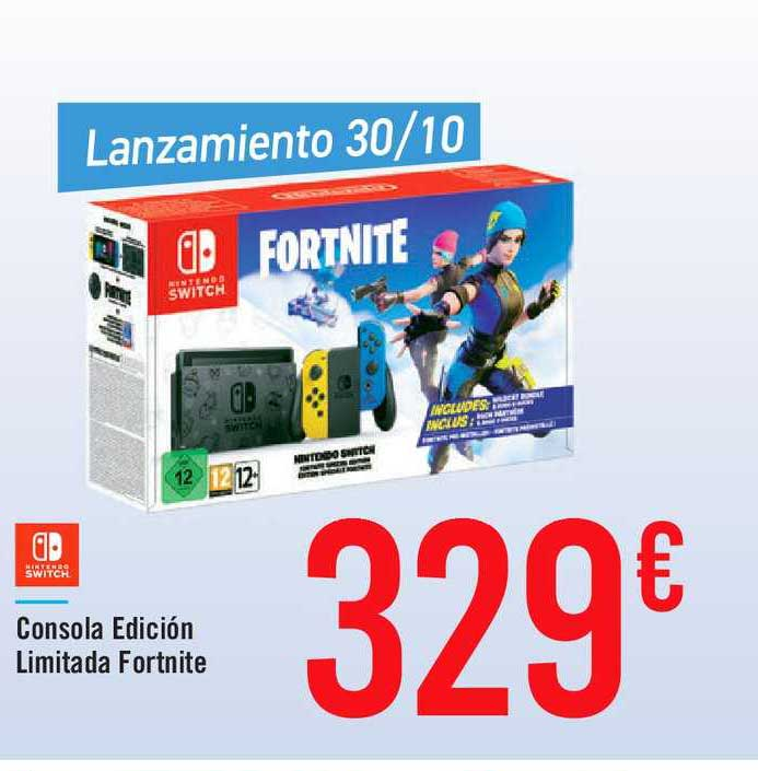 Carrefour Market Nintendo Switch Consola Edición Limitada Fortnite