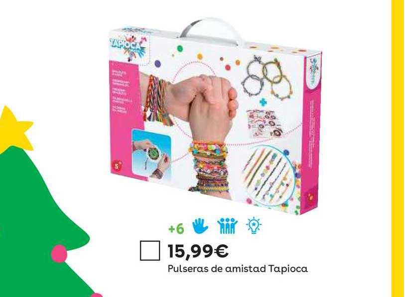 ToysRUs Pulseras De Amistad Tapioca