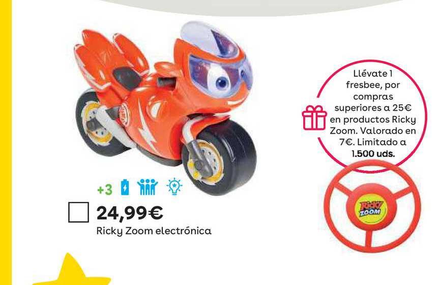 ToysRUs Ricky Zoom Electrónica