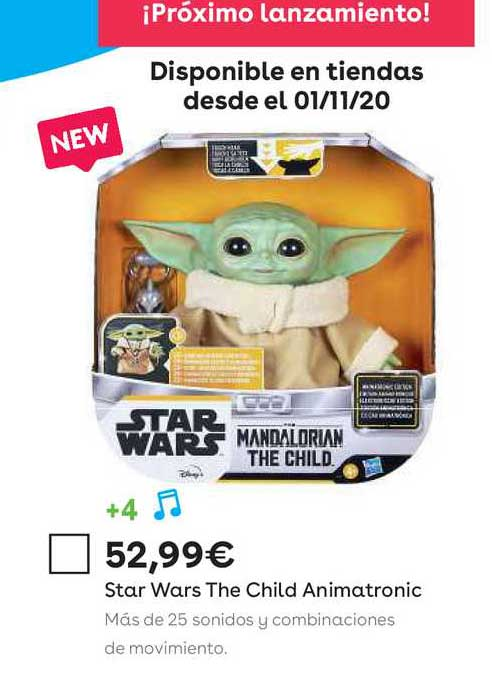 ToysRUs Star Wars The Child Animatronic