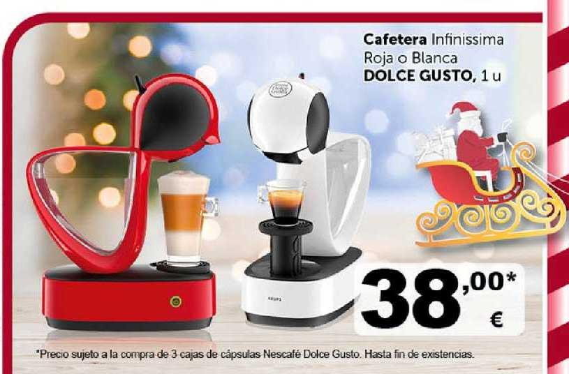 Masymas Cafetera Infinissima Roja O Blanca Dolce Gusto, 1 U