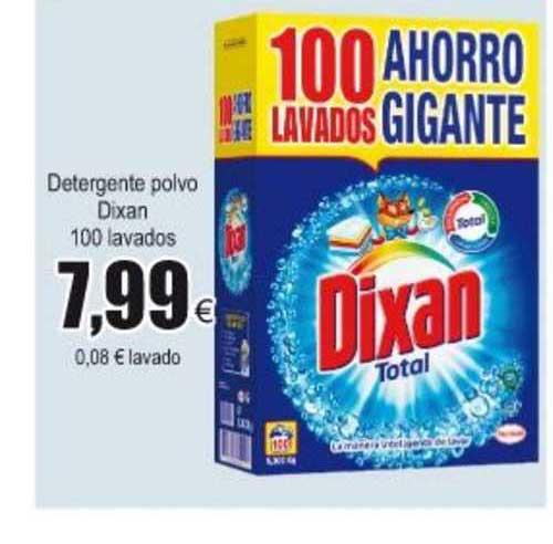 Froiz Detergente Polvo Dixan 100 Lavados