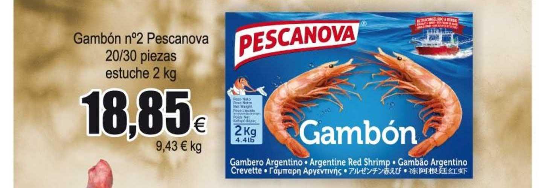 Froiz Gambón N°2 Pescanova 20∕30 Piezas Estuche 2 Kg