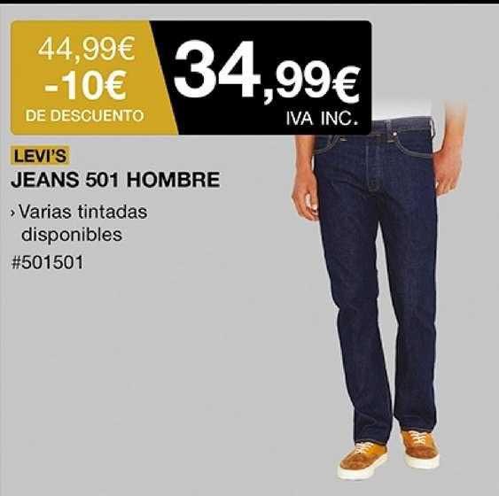 Costco Levi's Jeans 501 Hombre
