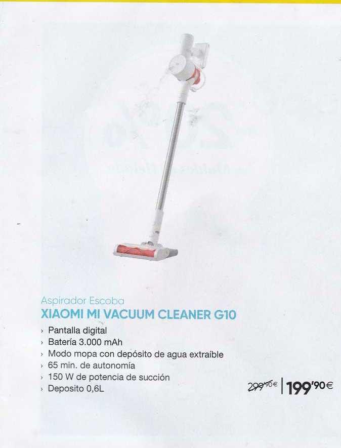 Fnac Aspirador Escoba Xiaomi Mi Vacuum Cleaner G10
