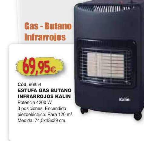 Ferrcash Estufa Gas Butano Infrarrojos Kalin