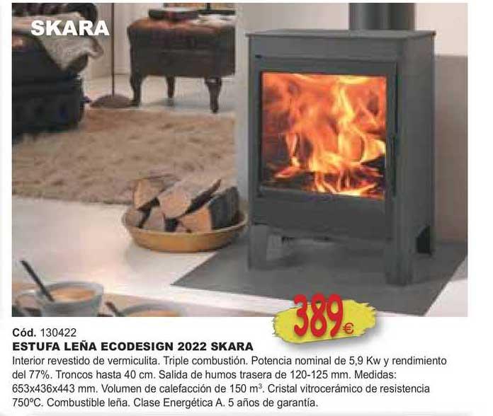 Ferrcash Estufa Leña Ecodesign 2022 Skara