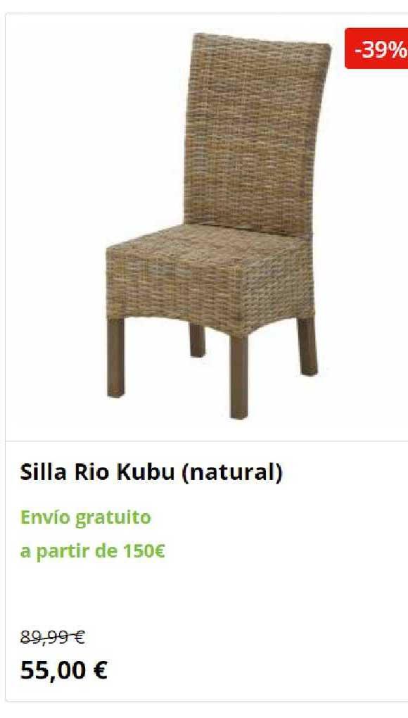 JYSK -39% Silla Rio Kubu (natural)