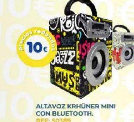 Tiendas MGI Altavoz Krhüner Mini Con Bluetooth
