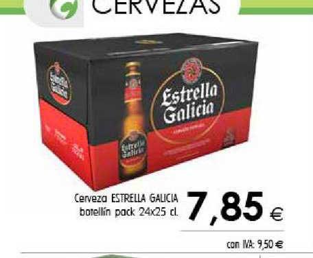 Cash Ifa Cerveza Estrella Galicia Botellín Pack 24x25 Cl
