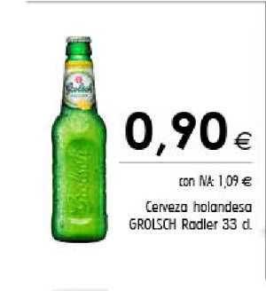 Cash Ifa Cerveza Holandesa Grolsch Radler 33 Cl