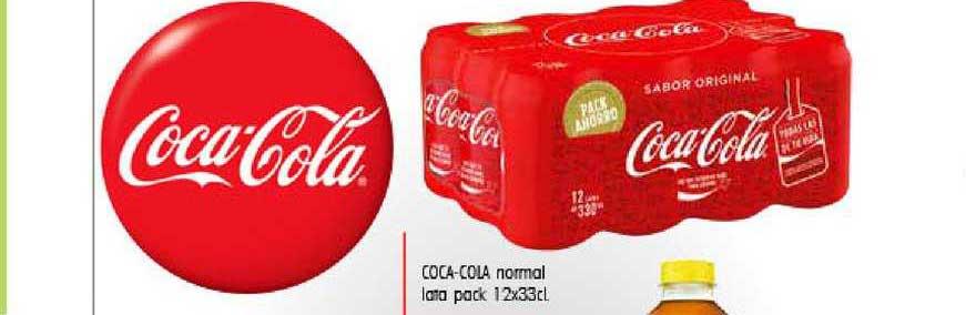 Cash Ifa Coca-cola Normal Lata Pack 12x33 Cl