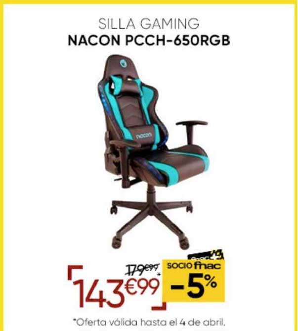 Fnac Silla Gaming Nacon PCCH-650RGB