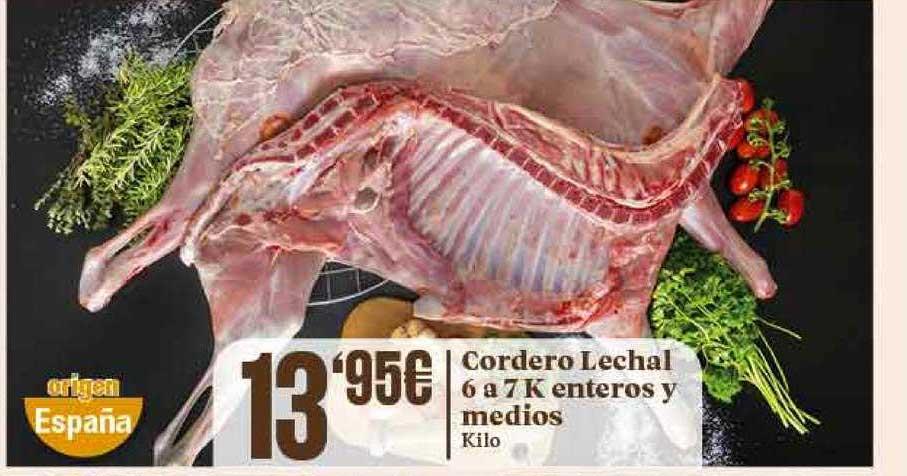 Gadis Cordero Lechal 6 A 7 K Enteros Y Medios