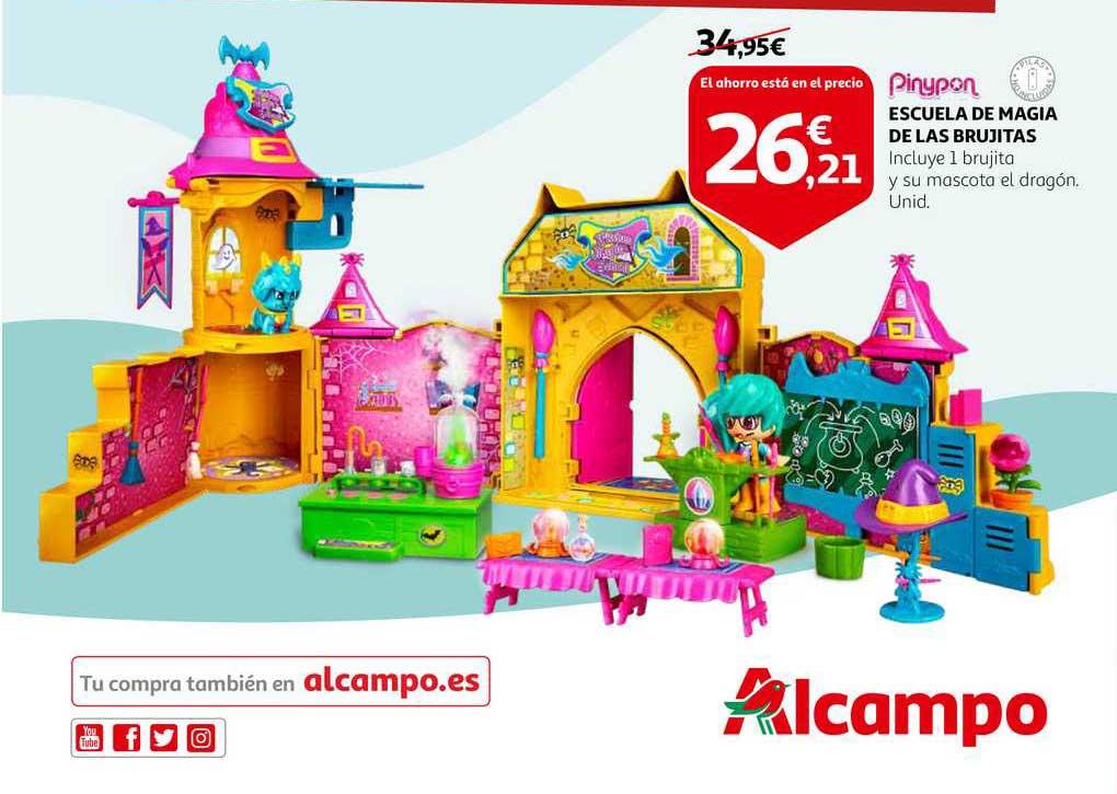 Alcampo Pinypon Escuela De Magia De Las Brujitas
