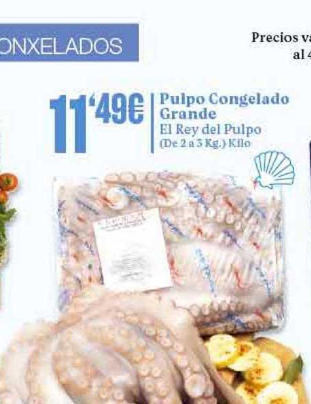 Gadis Pulpo Congelado Grande El Rey Del Pulpo