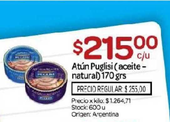Josimar Atún Puglisi (aceite-natural)