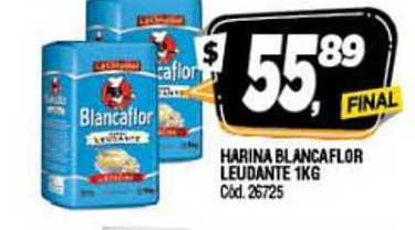 Supermercados Yaguar Harina Blancaflor Leudante