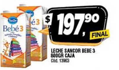 Supermercados Yaguar Leche Sancor Bebe 3