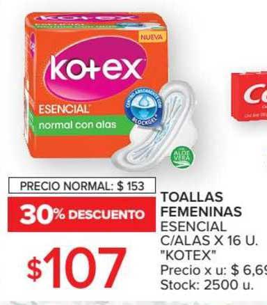 Carrefour Toallas Femeninas Esencial C Alas