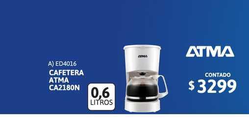Cetrogar Cafetera Atma Ca2180n