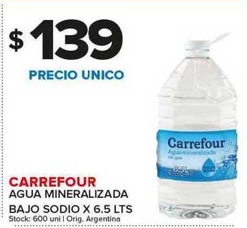 Carrefour Maxi Carrefour Agua Mineralizada Bajo Sodio
