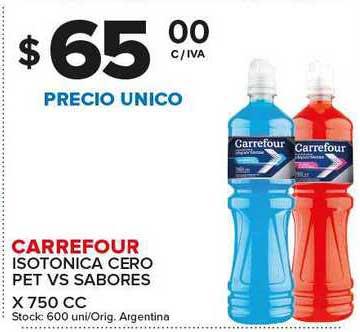 Carrefour Maxi Carrefour Isotonica Cero