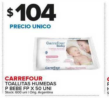 Carrefour Maxi Carrefour Toallitas Humedas P Bebe Fp