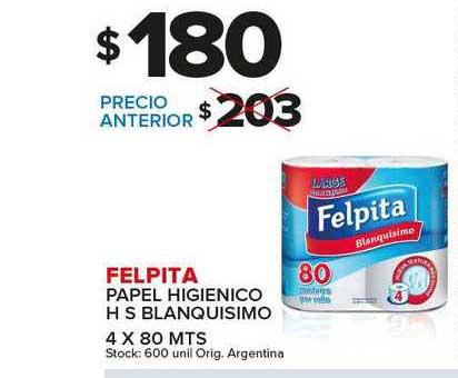 Carrefour Maxi Felpita Papel Higienico H S Blanquisimo