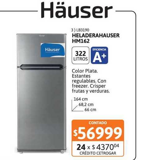 Cetrogar Heladerahauser Hm162