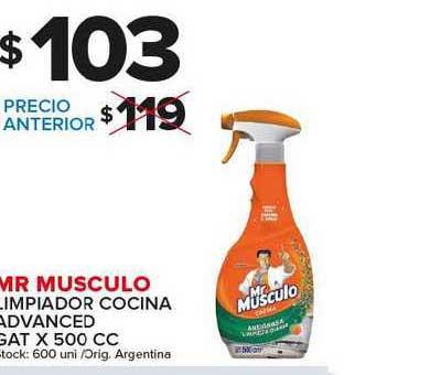 Carrefour Maxi Mr Musculo Limpiador Cocina Advanced