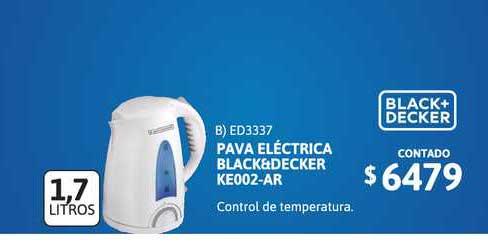 Cetrogar Pava Eléctrica Black&decker Ke002-ar