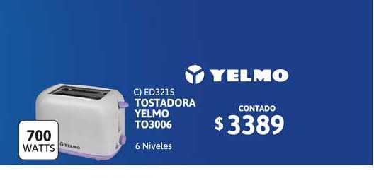 Cetrogar Tostadora Yelmo To3006