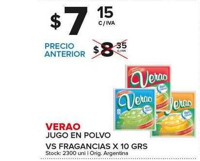 Carrefour Maxi Verao Jugo En Polvo
