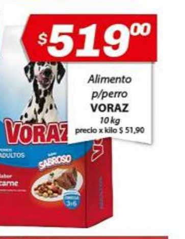Almacor Alimento P-perro Voraz 10 Kg
