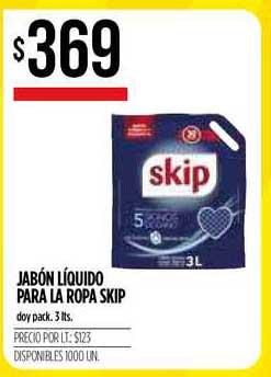 Supermercados Vea Jabón Líquido Para La Ropa Skip