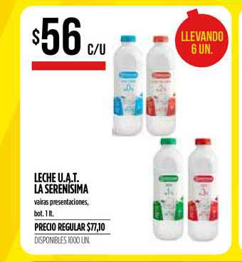 Supermercados Vea Leche U.A.T. La Serenísima