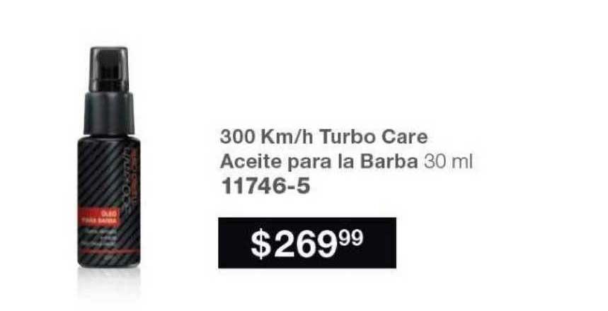 Avon 300 Km-h Turbo Care Aceite Para La Barba