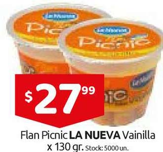 Cordiez Flan Picnic La Nueva Vainilla