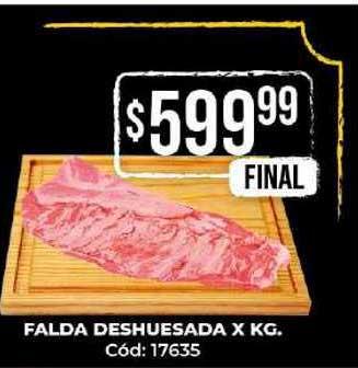 Diarco Falda Deshuesada