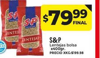 Supermayorista Vital S&p Lentejas Bolsa