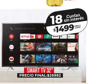 Supermayorista Vital Smart Tv 32