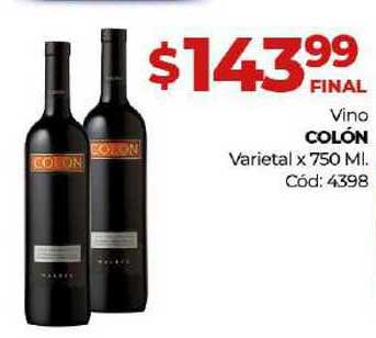 Diarco Vino Colón Varietal