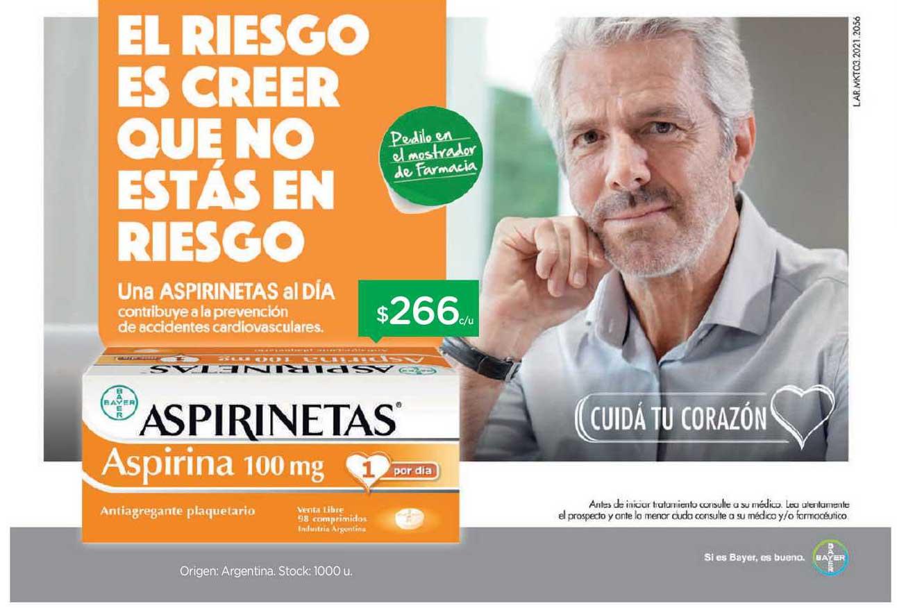 Farmacity Una Aspirinetas Al Día