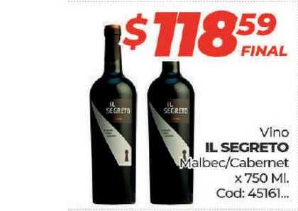 Diarco Vino IL Segreto Malbec-cabernet