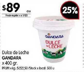 Disco Dulce De Leche Gandara