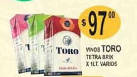 Delfín Supermercados Vinos Toro Tetra Brik