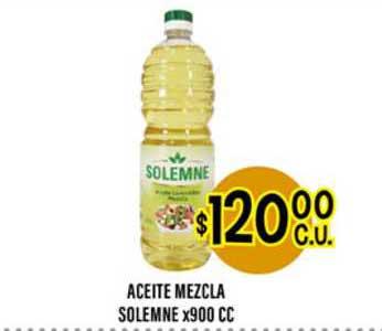 Supermercados Toledo Aceite Mezcla Solemne